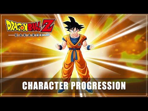 DRAGON BALL Z: KAKAROT – Character Progression