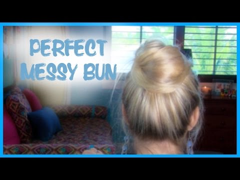 How To Perfect Messy Bun