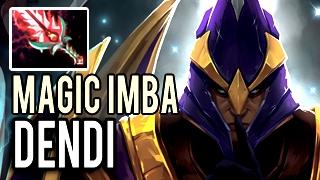 Damage Magic Imba Silencer by Dendi with 23 Kills 8k MMR Patch 7.02 Dota 2