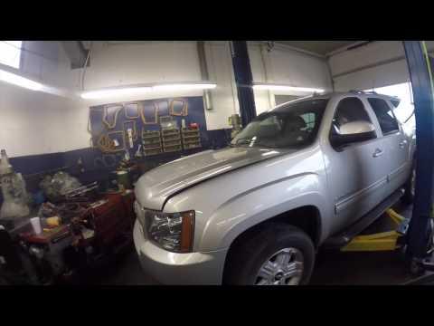 2011 Chevy Suburban 4x4 6l80e  Transmission removal