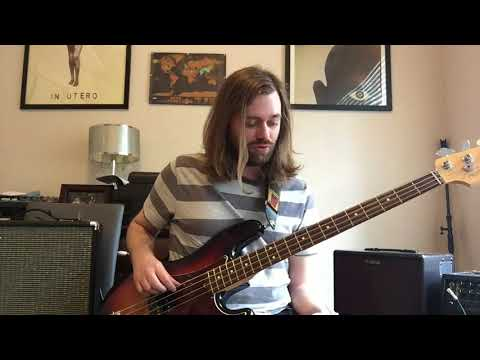 The Beatles - Octopus's Garden Bass Cover and Lesson