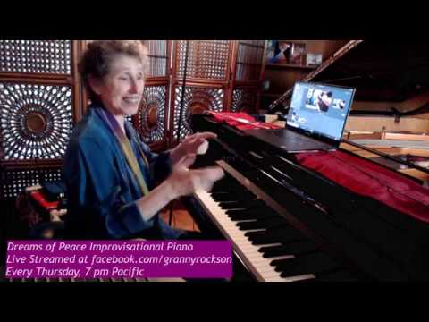 Dreams of Peace Improvisational Piano Music, Beth Green, 8-15-19