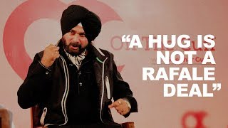A hug is not a Rafale deal: Navjot Sidhu on being embraced by Pakistan Army chief
