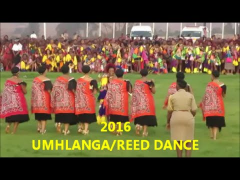 Umhlanga/Reed Dance 2016 Swaziland Vlog| Swazi in South Africa YouTuber| 05 Sept 2016