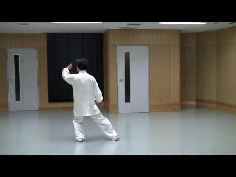 太極功夫扇背向慢動作 (2013.08.25) Slow moving::.watchmoreclips