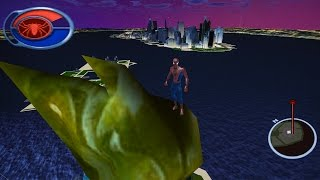 Spider-Man 2 The Game - Reaching LIBERTY ISLAND (Tutorial) | Dolphin Emulator 2K 21:9 Gameplay