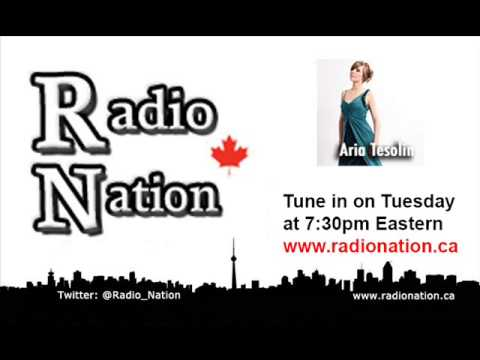 Aria Tesolin interview on Radio Nation (February 22nd 2011)