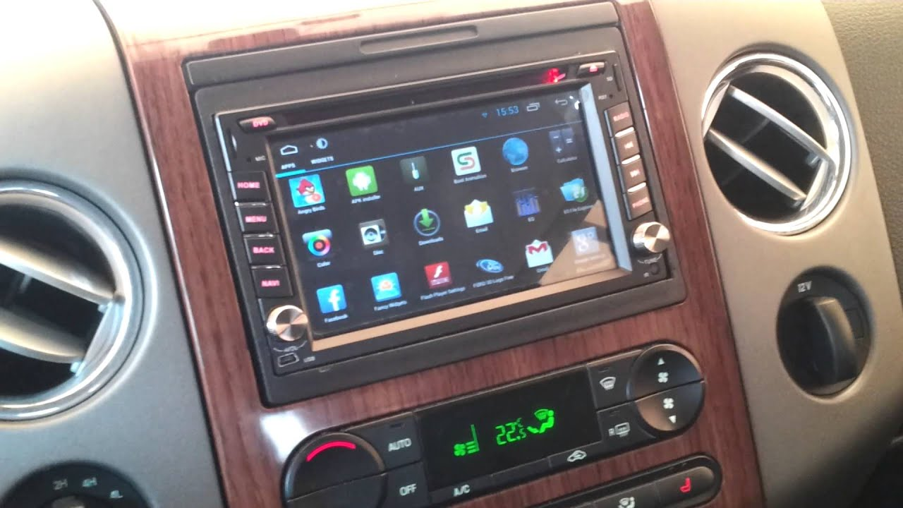 Dual Core Android Head Unit    Installed