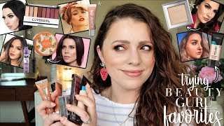 TRYING BEAUTY GURU'S FAVE MAKEUP // Youtube Made Me Buy It 2019