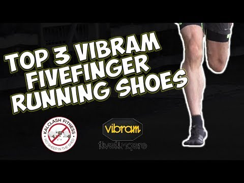 Vibram Fivefingers top 3 running shoes 2017 - best barefoot running shoes review