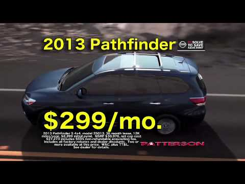 Patterson Nissan Longview Tx >> Patterson Nissan In Longview Texas Tv Commercial