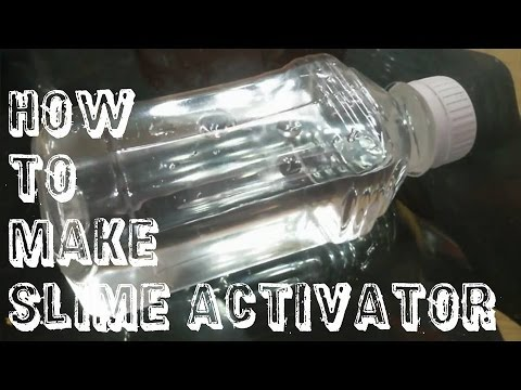 how to make homemade slime activator