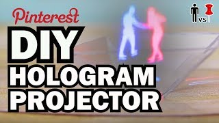Diy Hologram Projector - Man Vs Pin - Pinterest Test #65