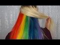 Peakaboo Rainbow Hair Tutorial