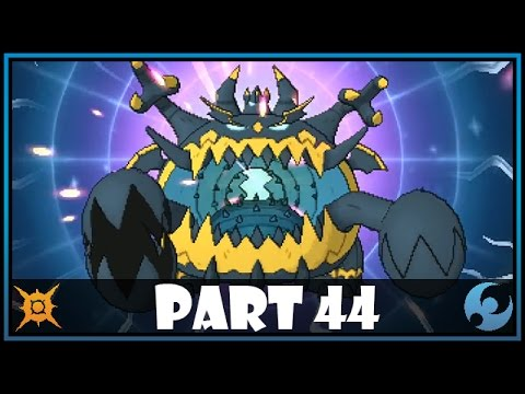 Pokemon Sun and Moon Part 44 - Catching Guzzlord (UB-05)