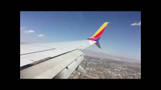 Turbulence flying into Vegas!?