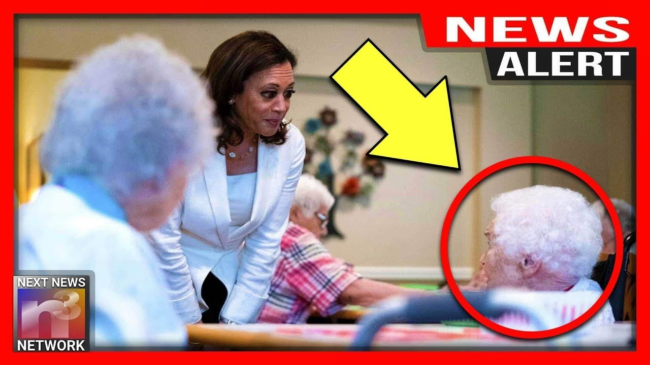 ALERT: Kamala Harris HUMILIATED By Little Old Lady In Nursing Home Over Her Radical Health Care Plan