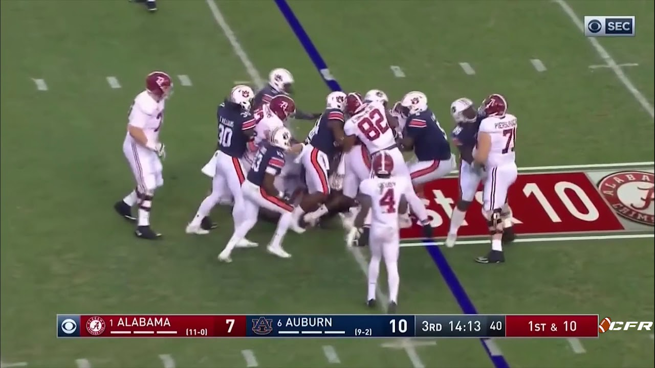 Alabama vs Auburn 2017 FULL GAME - ALL PLAYS - 21 minutes ...