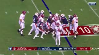 Alabama vs Auburn 2017 FULL GAME - ALL PLAYS - 21 minutes