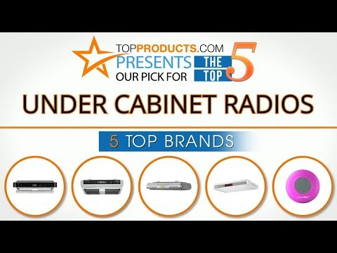 Best Under Cabinet Radio Reviews  – How To Choose The Best Under Cabinet Radio
