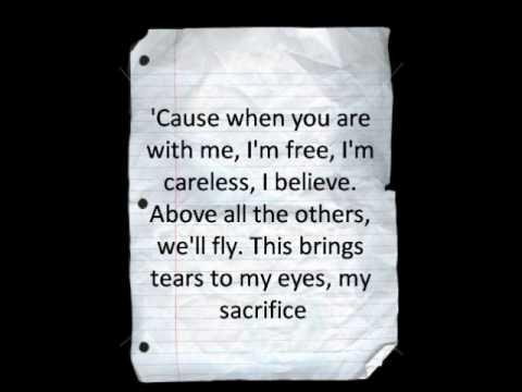 My Sacrifice-Creed (with lyrics)