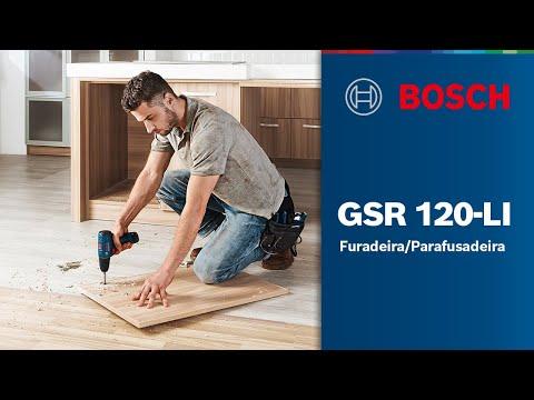 Furadeira/Parafusadeira GSR 120-LI