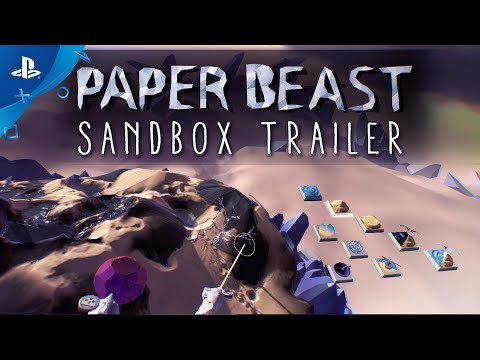 Paper Beast - Sandbox Trailer | PS VR