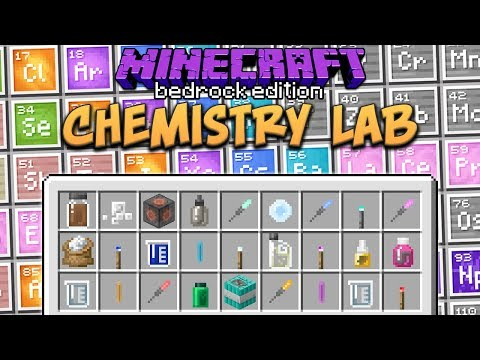 Minecraft Beta: Chemistry Lab (Education Edition)