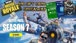 Fortnite / Prize Wheel Spins Every Hour! / $10 Gift Card Giveaway!
