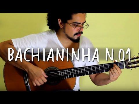 Paulinho Nogueira | BACHIANINHA n.1  (Violão Solo / Acoustic Guitar)
