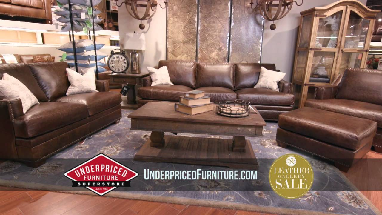 Underpriced Furniture - Leather Furniture Atlanta