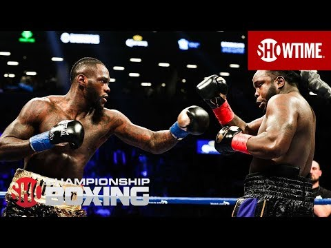 Deontay Wilder KO Bermane Stiverne in Round 1 | SHOWTIME CHAMPIONSHIP BOXING