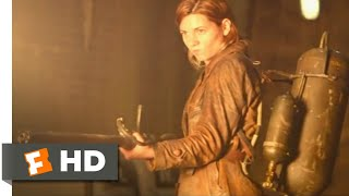 Overlord (2018) - Flamethrower vs. Zombie Scene (8/10) | Movieclips