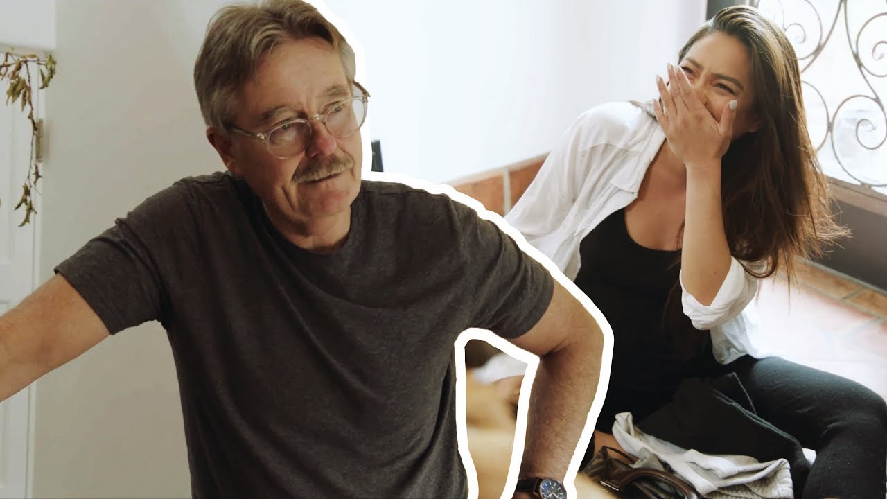 The Labor Prank My Dad Didn't Want You to See | Shay Mitchell