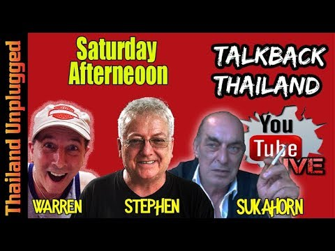 TalkBack Thailand Saturday Afternoon with Thailand Unplugged #19