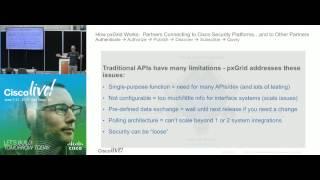 DEVNET 1010 -   Using Cisco pxGrid for Security Platform Integration
