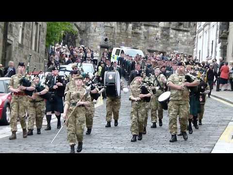 Argyll & Sutherland Highlander Veterans, Stirling.