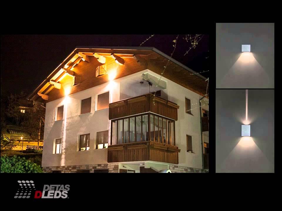 Illuminazione led per esterni lampade da incasso e da parete