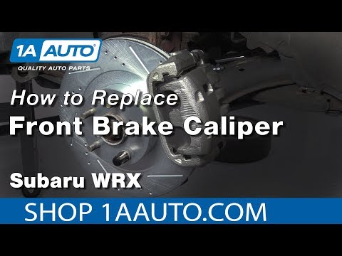 How to Replace Front Caliper 03-05 Subaru WRX