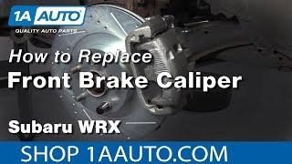 How to Replace Front Caliper 03-05 Subaru WRX