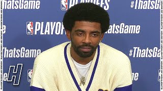 Kyrie Irving Postgame Interview - Game 1 - Celtics Vs Nets | May 22, 2021 | NBA Playoffs