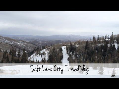 Salt Lake City Travel Vlog