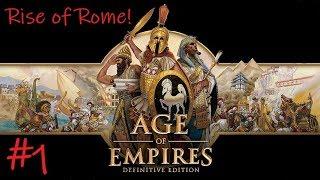 Age of Empires 1 HD Definitive: Rise of Rome Campaign #1 (NOSTALGIA)