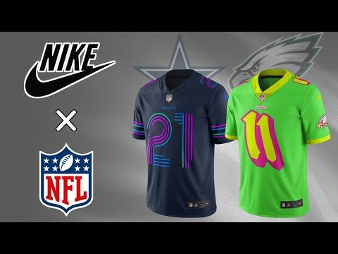 All 32 NFL Team Nike City Edition Jersey Concept Design (NBA Inspired)