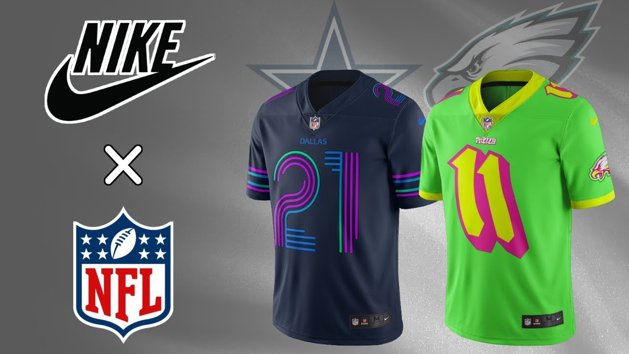 be14ab1ac49 All 32 NFL Team Nike City Edition Jersey Concept Design (NBA Inspired)