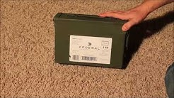 Federal 5.56 420 Round Ammo Can