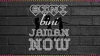 BINI - BINI JAMAN NOW _MUSI STUDIO KTG
