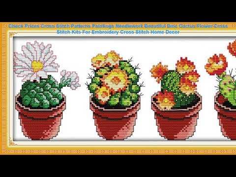 Check Prices Cross Stitch Patterns Paintings Needlework Beautiful Dmc