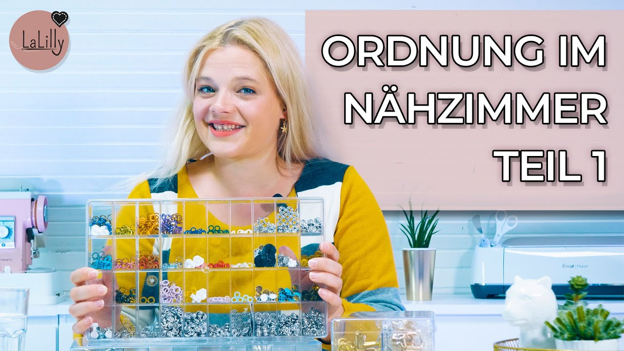 Odnung halten im Nähzimmer | #1