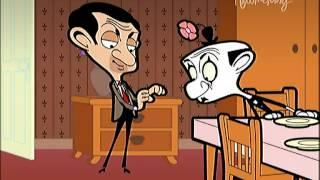 Mr Bean avec son ours en peluche Dessins animés.mpg